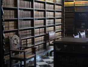 Reading room in Court-house