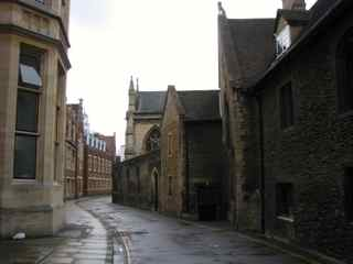 Old street, Cambridge UK, april 2012