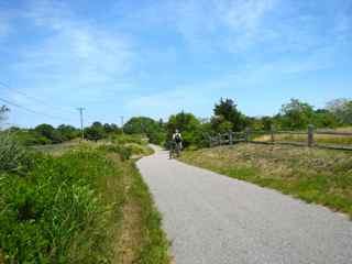 Biking at Nantucket, June 2012