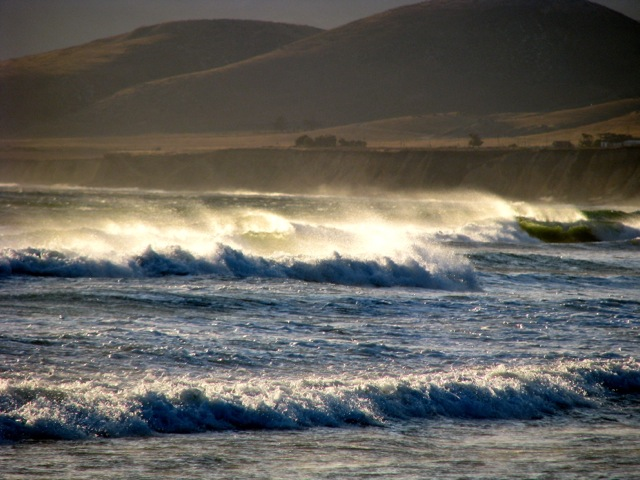 Big waves at Jalama
