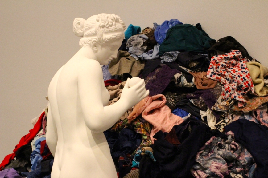 Venus of the rags, by Michelangelo Pistoletto